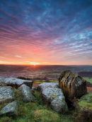Sunset from Carhead Rocks