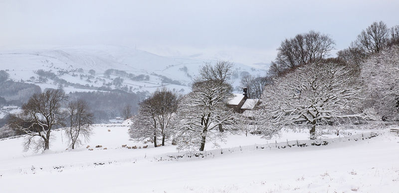 Hope Valley in winter