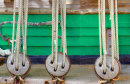 Ships mast-ropes