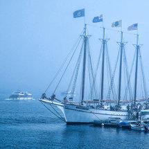 4010-Bar Harbor 4mast boat