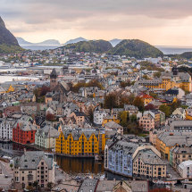 5011-Alesund panoramic view