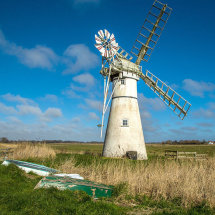 7011-Thurne windmill