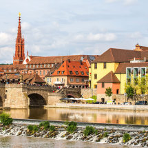 8018-Wurzburg Bridge buildings