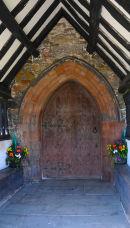 Worthen Church Main Door