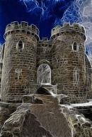 Be not afraid......Whittington Castle