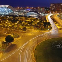 9. The Science Park at Night