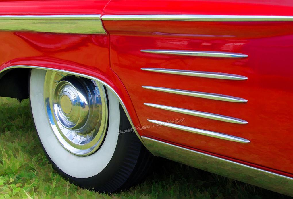 Cadillac Detail - Colour