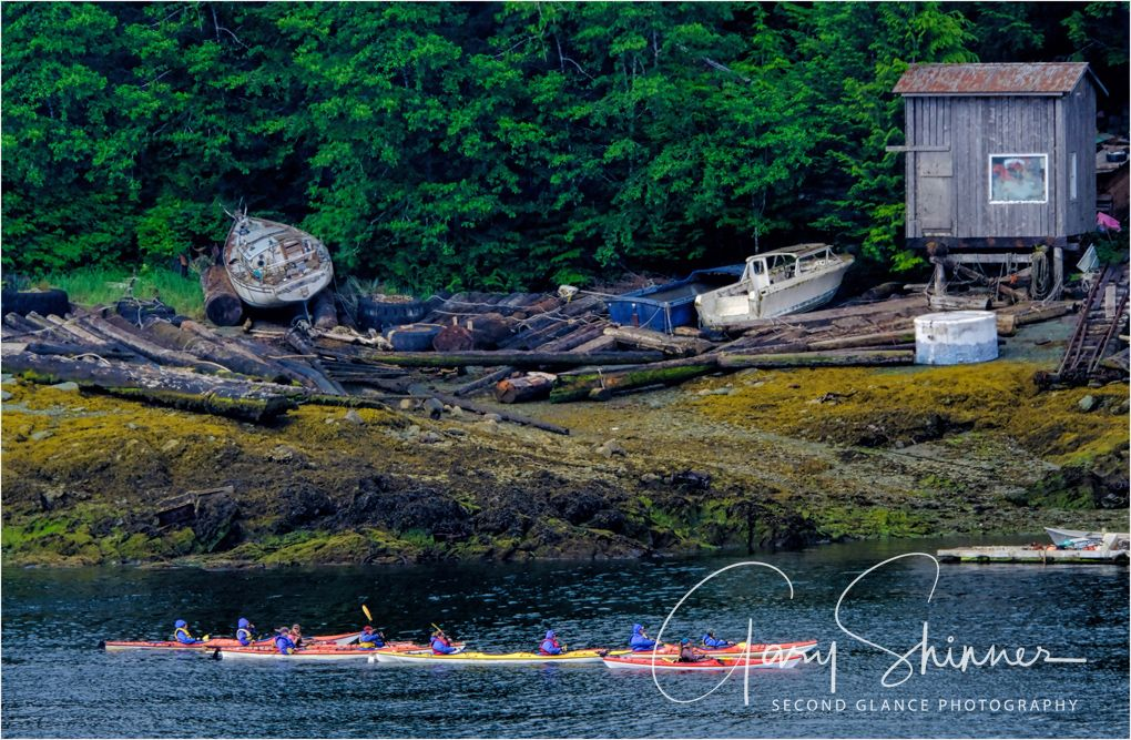 Canoeing in Ketchikan