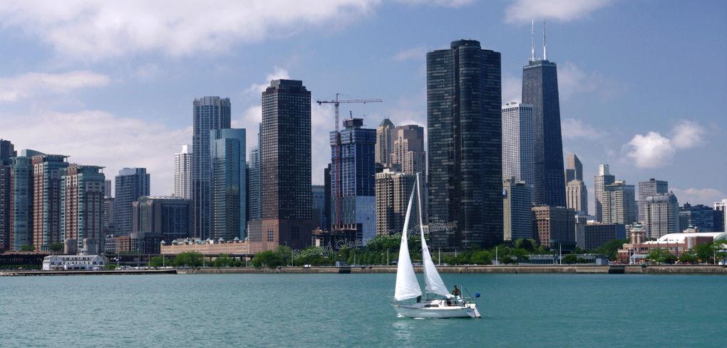 Chicago - Lake Michigan's Vista
