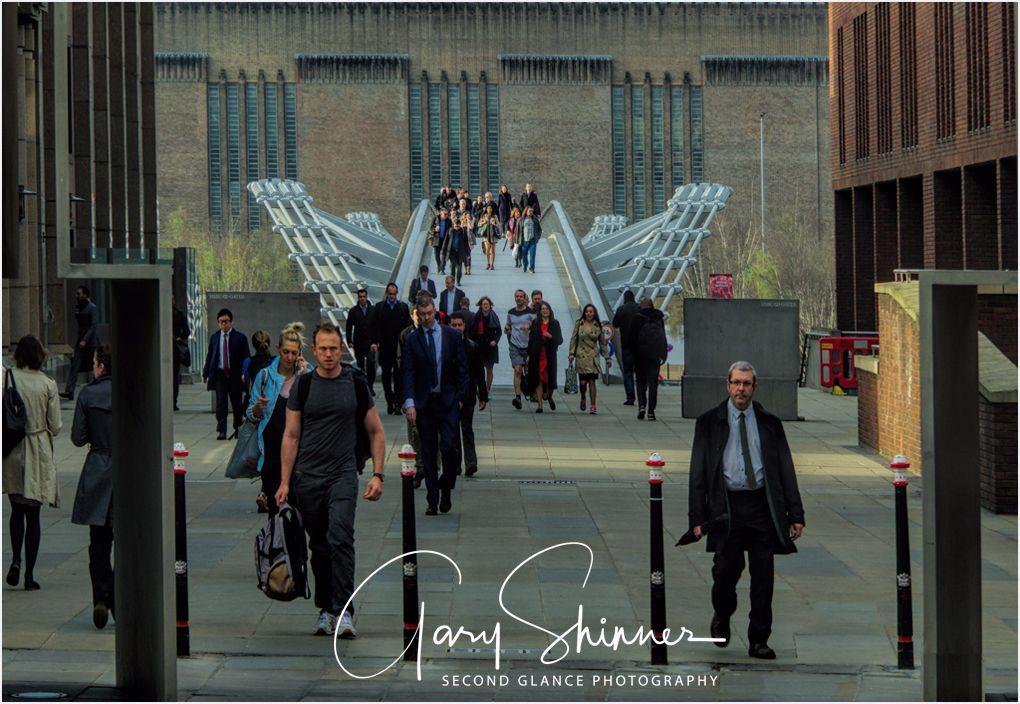 Concourse towards Millennium Bridge