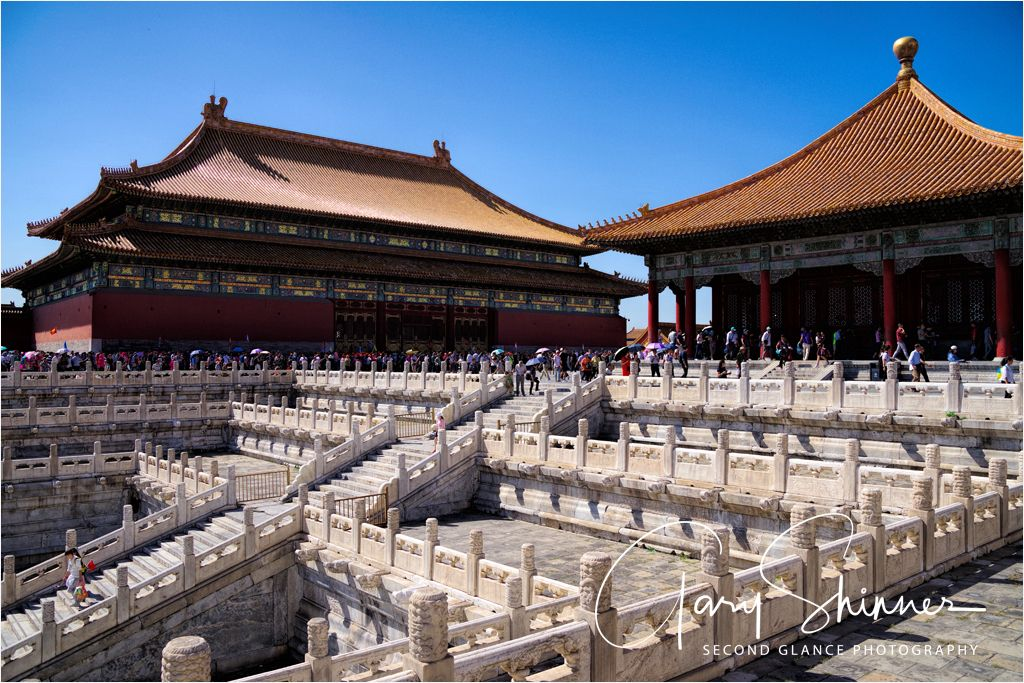 Crowds at the Forbidden City