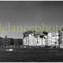 Entrance to Grand Canal - Venice (in Mono)