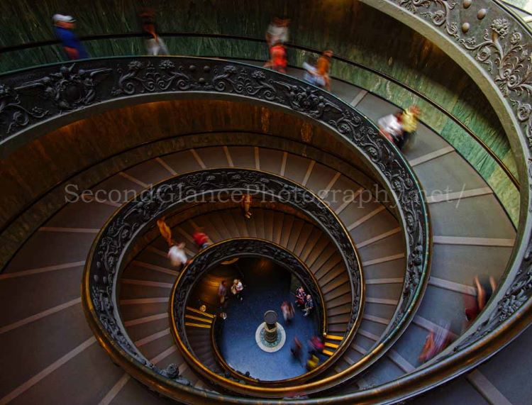 The Exit Stairs - The Vatican