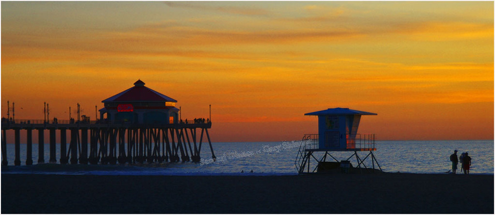 Huntington Pier CA