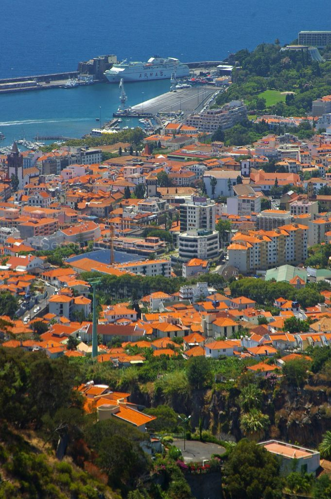 The port of Funchal