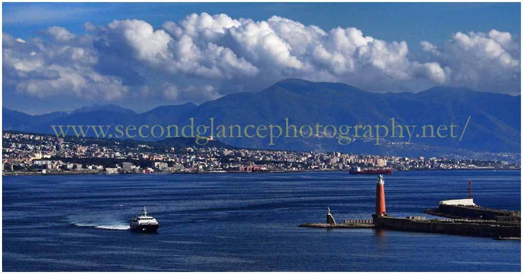 Naples Port Entrance