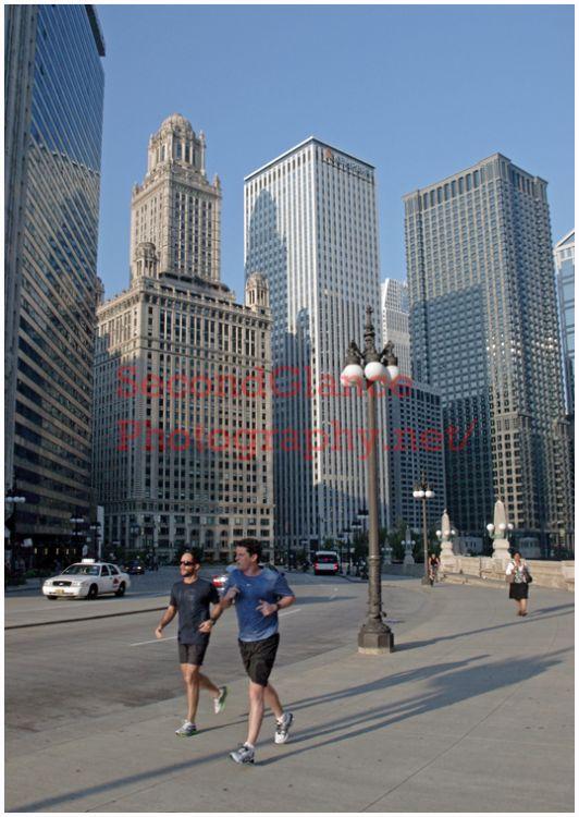 No.9 Wacker Dr. Morning Joggers – Chicago