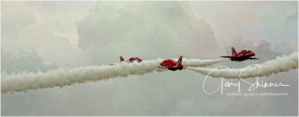 Red Arrows in action
