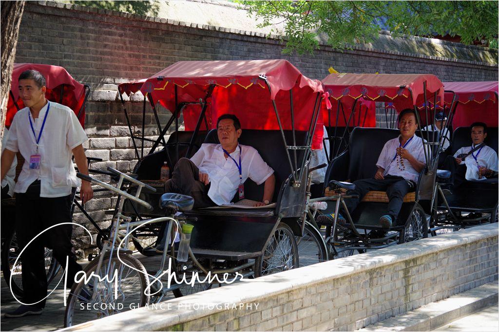 Rickshaw rank Beijing