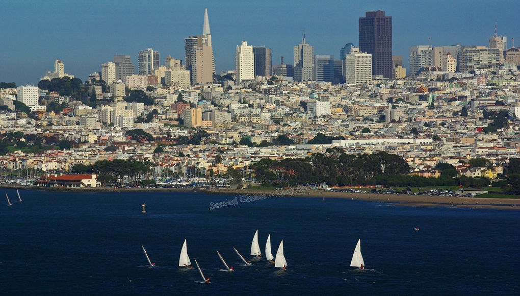 San Fran coast & boats