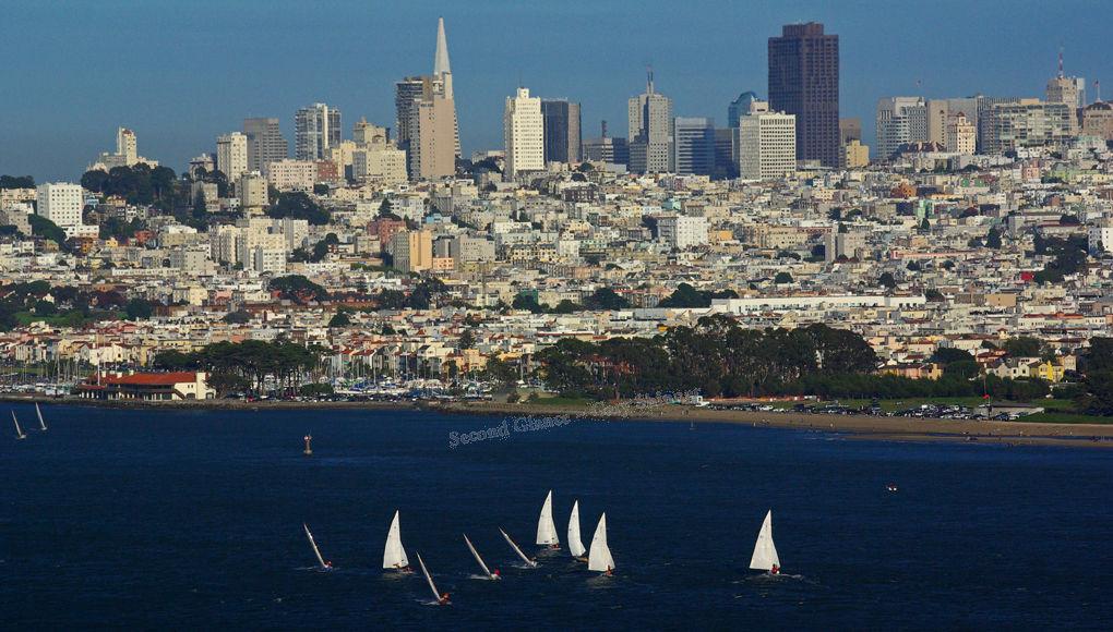San Francisco Coast & Sail Boats