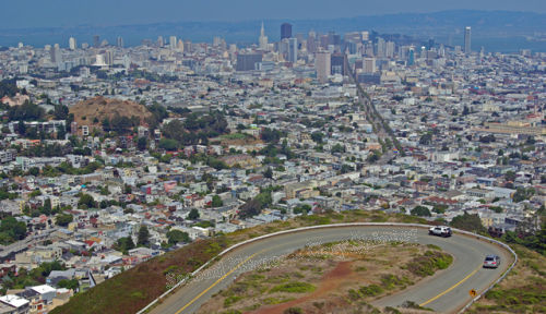 San Francisco - from Twin Peaks