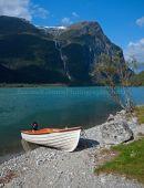 Lake Lovatnet near Olden