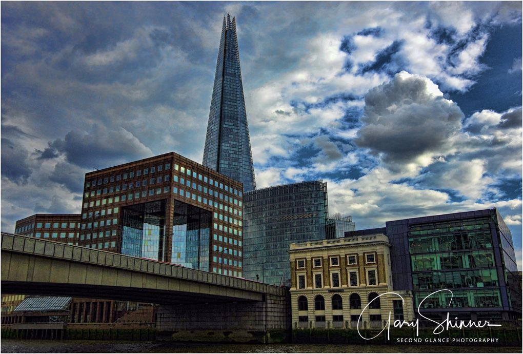 Storm brewing over the shard