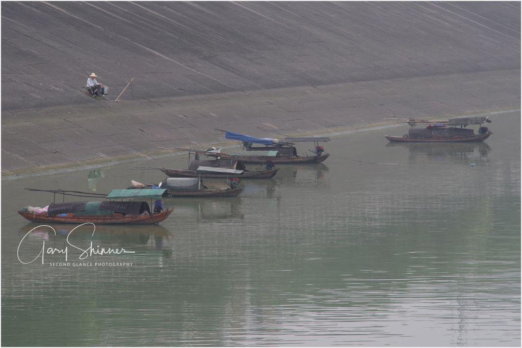 The Loner fisherman Yangtze River