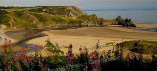 Three Cliffs Bay - Swansea