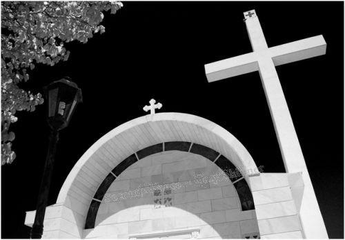 The Cross of Fadikas Church - Mono