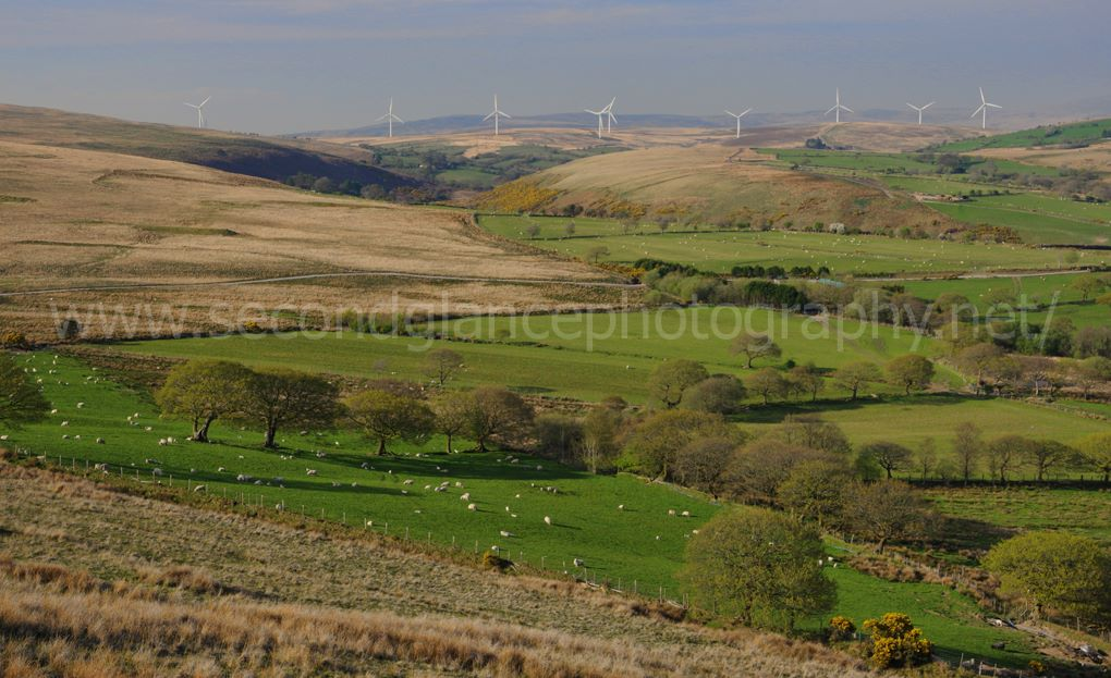 Windfarm Valley