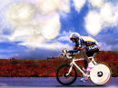 Miguel Indurain Time Trial in Poppys