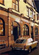 Ian Young's pride and Joy. His MG outside the Tyne Pub Newcastle