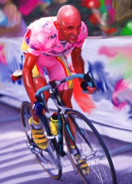 Pantani in all colours