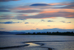 Clouds at Sunset, Tay Estuary