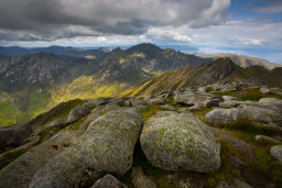 North Goatfell and the Saddle