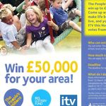 Image used for ITV's 'People's Millions'