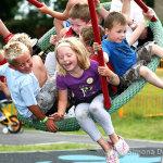 Big Lotto park launch Hailsham, Sussex