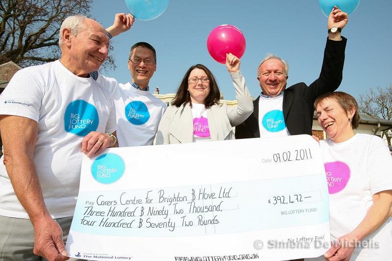Big Lottery Donation Celebration