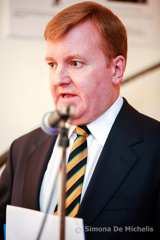 Charles Kennedy MP, speaking at Caledoniart Ltd event.