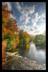 The River Derwent at Leadmill