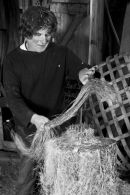 Simon Cooper - Flaxgrower, maker and weaver