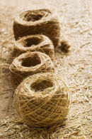 Balls of Flax twine