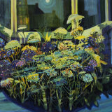 """""""Bay Window"""" oil and mixed media on linen, 123 x 150cm ,"""