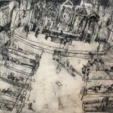 Church, Drypoint edition of 4