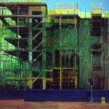 Traffic Lights, oil on canvas 97 x 102 cm