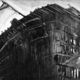 monoprint, ARC, oil on paper