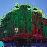 Ulster Scaffolding, oil on canvas