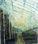 Palmhouse East Wing, oil on canvas, Simon McWilliams